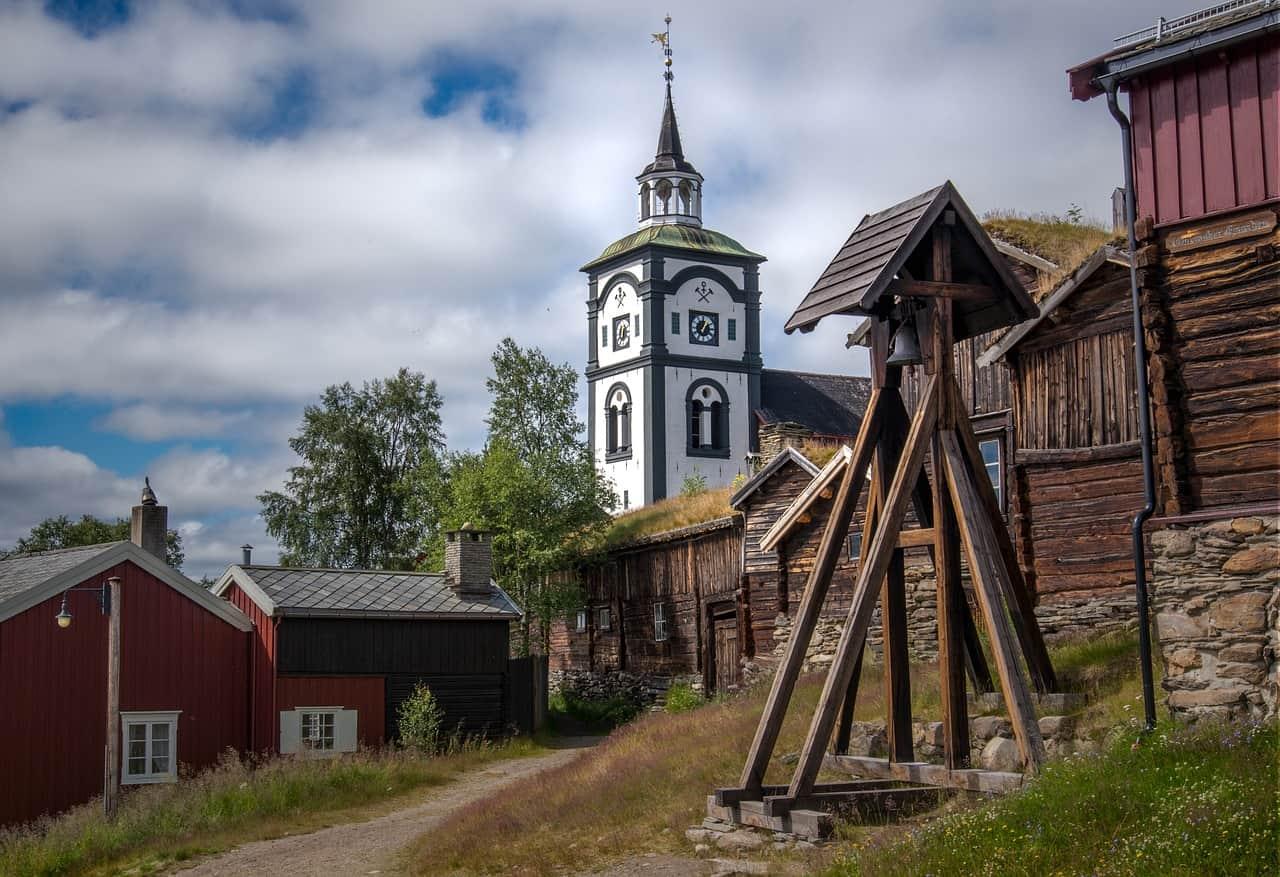Roros Foto di Einar Storsul da Pixabay