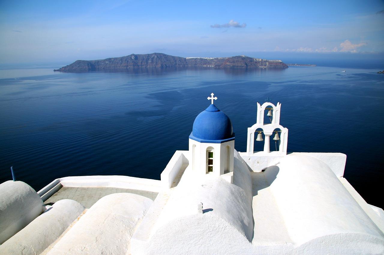 Chiesa di Agios Theodoris Foto di Klaus Stebani da Pixabay