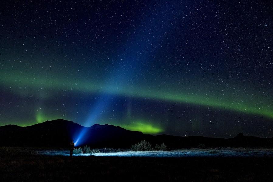 Il cammino dei pellegrini in Svezia Aurora Boreale Foto di Alex Prykhodko da Pixabay