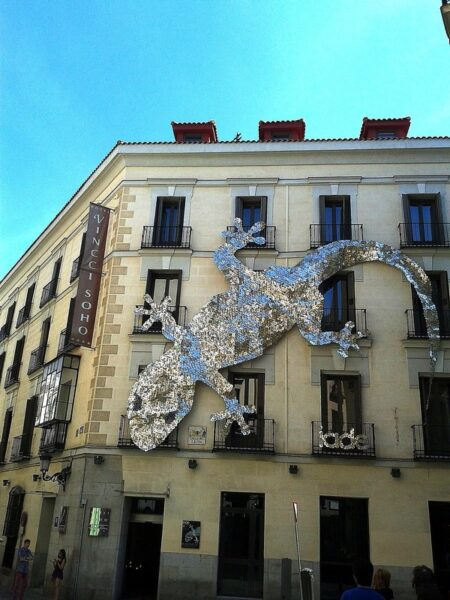 Quartiere Letterario Madrid Cinzia