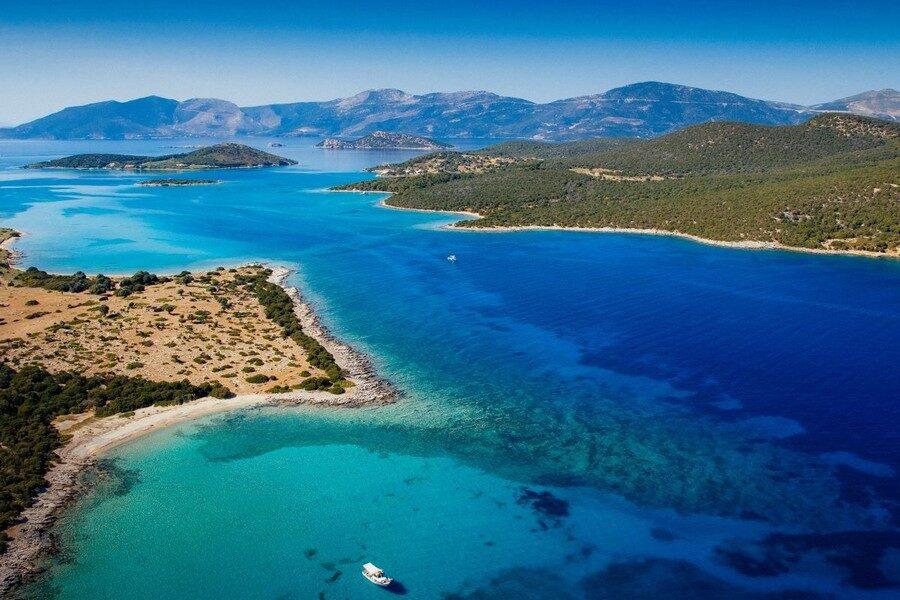 Evia l'Isola dei Greci Petali islands
