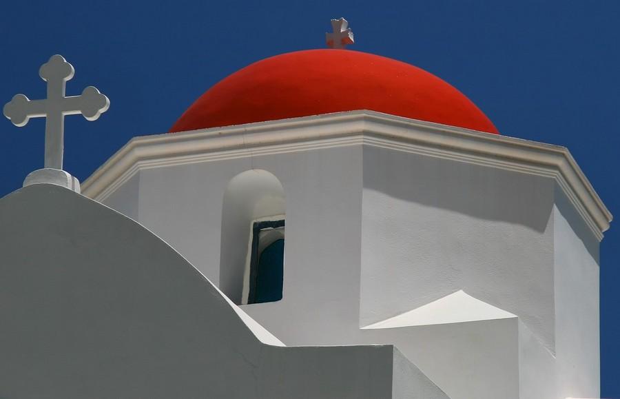 Karpathos Cupola rossa di Kira Panagia Foto di analogicus da Pixabay