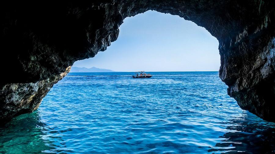 Isola di Zante Le Grotte Foto di TeeFarm da Pixabay