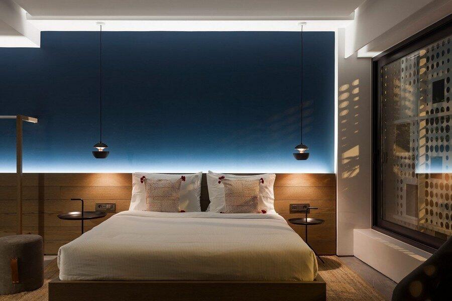 Appartamento ad Atene camera da letto
