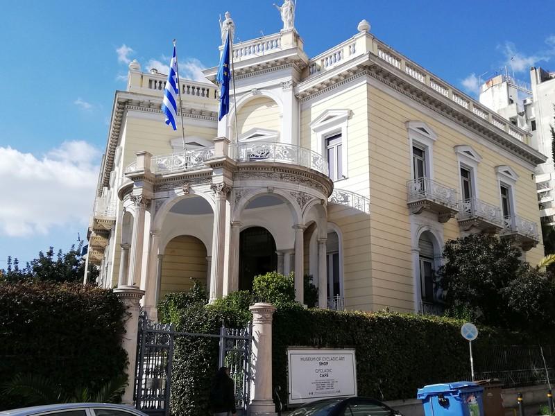 Quartiere di Kolonaki Museo Benaki Atene