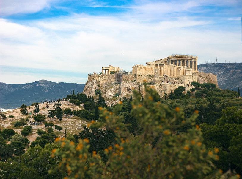 Acropoli di Atene Foto di kurmanna da Pixabay